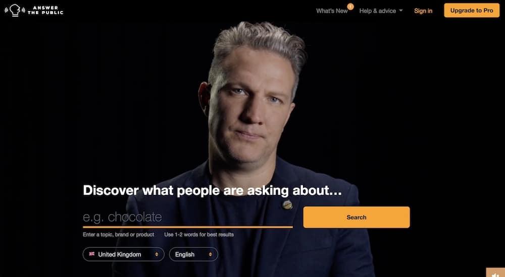 utiliser answer the public pour trouver des idées d'articles