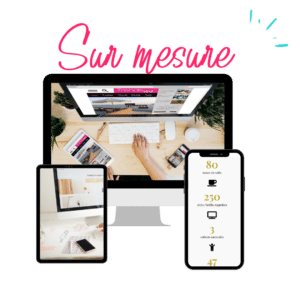site wordpress sur mesure