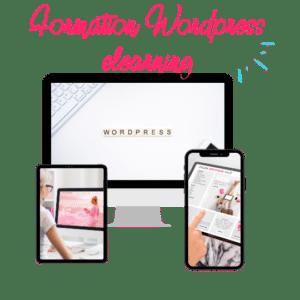 formation elearning WordPress